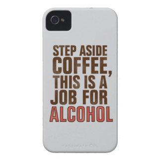 Kaffe och alkohol iPhone 4 Case-Mate fodral