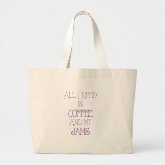 Kaffe och min Jams2 Jumbo Tygkasse