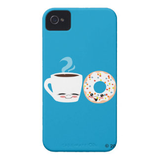 Kaffe- och munkPals Case-Mate iPhone 4 Fodral