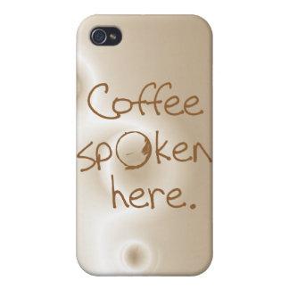 Kaffe som här talas iPhone 4 fodral