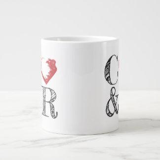 Kaffe & stor mugg för revolution jumbo mugg