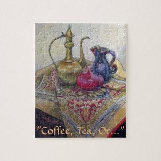 """Kaffe Tea, eller… """", Pussel"""
