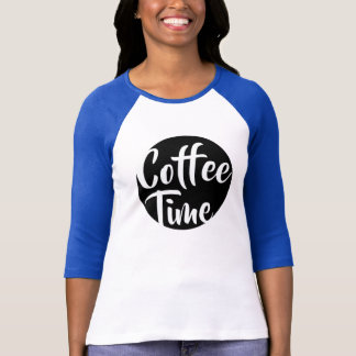 Kaffe Time Tee Shirt