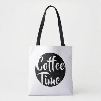 Kaffe Time Tygkasse