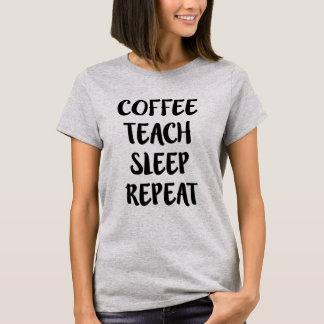 Kaffe undervisar sömnrepetition den roliga tröja