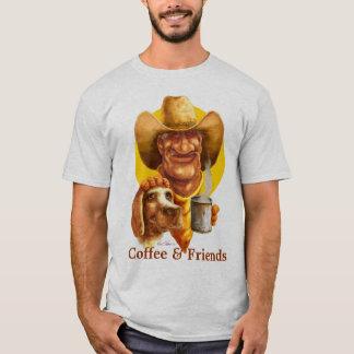 Kaffe & vänner tee shirt