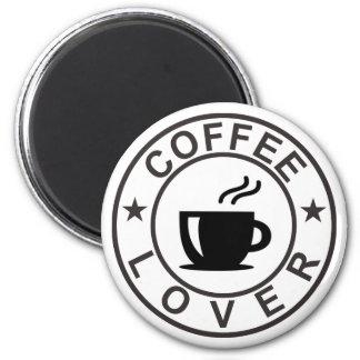Kaffeälskare Magnet