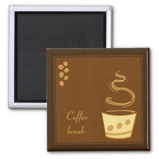 Kaffeavbrott - affärsmagnetdesign magnet