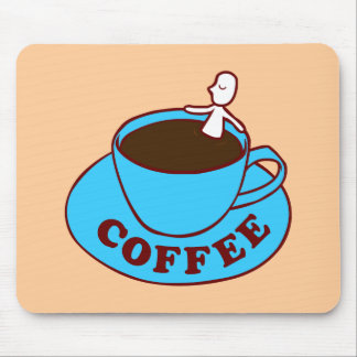 Kaffebad Mousepad Mus Matta