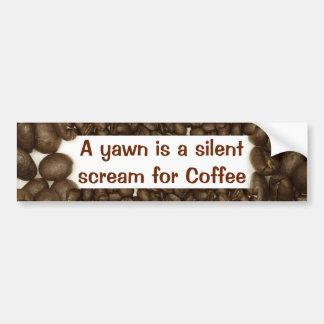 Kaffebönabildekal Bildekal