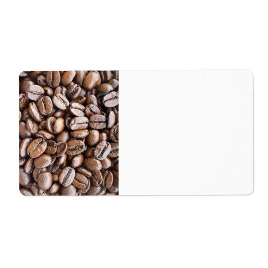 Kaffebönor Fraktsedel