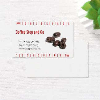 Kaffebönor Visitkort