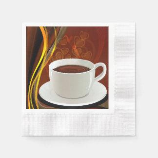 KaffeCafekonst Papper Servetter