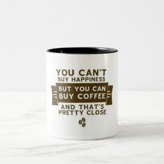 Kaffecitationsteckenmugg Två-Tonad Mugg