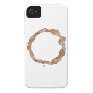 Kaffefläckmönster iPhone 4 Case-Mate Skydd