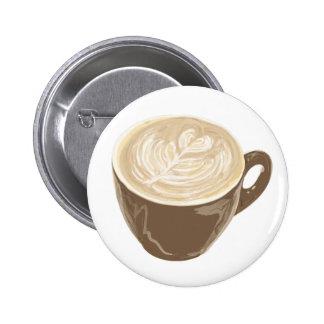 kaffehjärtakonst standard knapp rund 5.7 cm