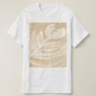 kaffehjärtakonst t-shirt