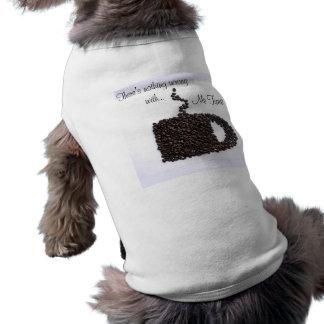 Kaffekopp, kaffebönor husdjurströja