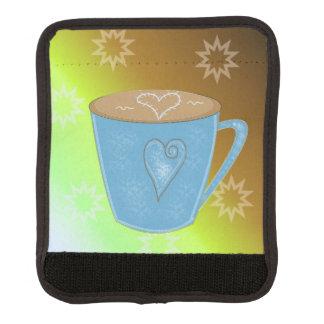 Kaffekopp och hjärta handtagsskydd
