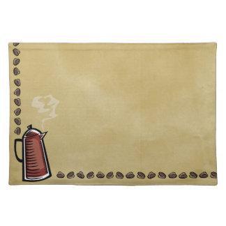 Kaffekruka och bönor bordstablett