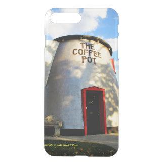 Kaffekruka som bygger fodral iPhone7