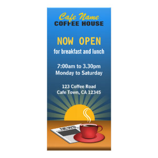 Kaffemenyn shoppar beställnings- kort för ställkort