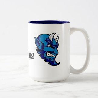 Kaffemugg för Cheerleading Två-Tonad Mugg