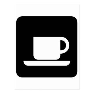 Kaffemugg för kaffeälskare! vykort