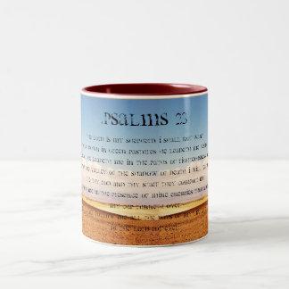 Kaffemugg för Psalms 23