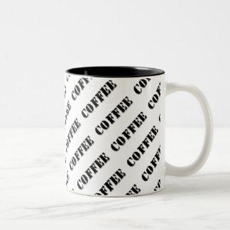 Kaffemugg….,Formligen Två-Tonad Mugg