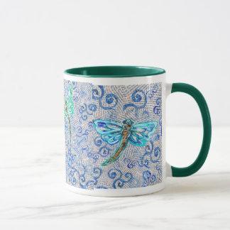 Kaffemugg med sländor