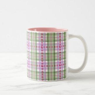 Kaffemugg - randig pläd för godis från Phlox Två-Tonad Mugg