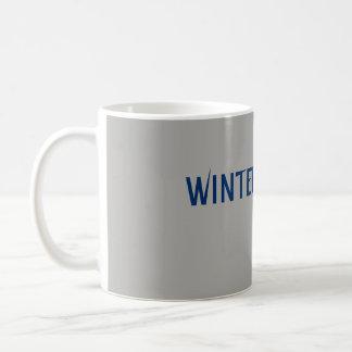 """Kaffemuggen """"vinter är här """", kaffemugg"""