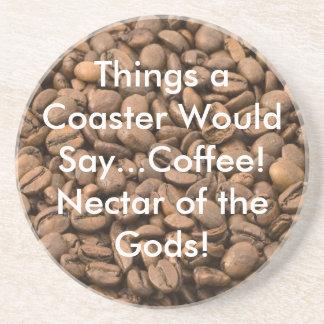 KaffeNectar av gudarna! Kustfartyg Underlägg