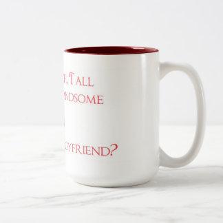 Kaffepojkvän Två-Tonad Mugg