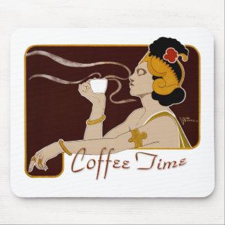 KaffeTime CC0224 art nouveau Mousepad Mus Matta