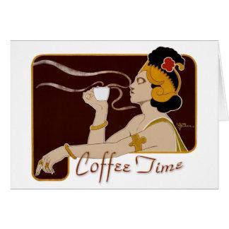 KaffeTime CC0227 art nouveau vikt kort
