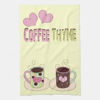 KaffeTime kökshandduk
