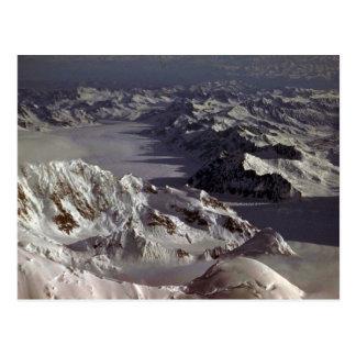 Kahiltna glaciär, som sett från Mount McKinley, Vykort