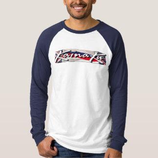 Kainaku manar skjorta för Raglan Tee Shirt