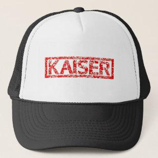 Kaiser frimärke truckerkeps