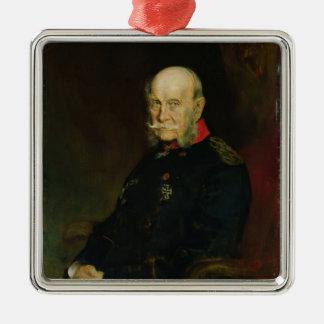Kaiser Wilhelm mig, 1888 Julgransprydnad Metall