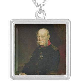 Kaiser Wilhelm mig, 1888 Silverpläterat Halsband