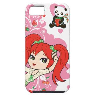 Kaiwaii Coco skolaflickan Chibi iPhone4 iPhone 5 Hud