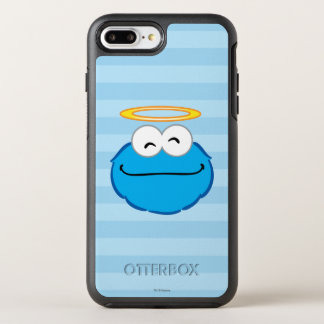 Kaka som ler ansikte med gloria OtterBox symmetry iPhone 7 plus skal