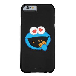 Kaka som ler ansikte med hjärtformade ögon barely there iPhone 6 fodral
