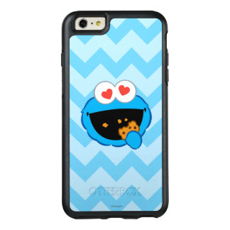 Kaka som ler ansikte med hjärtformade ögon OtterBox iPhone 6/6s plus skal