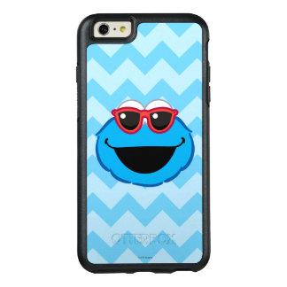 Kaka som ler ansikte med solglasögon OtterBox iPhone 6/6s plus skal