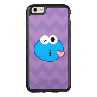 Kakaansikte som kastar en kyss OtterBox iPhone 6/6s plus skal
