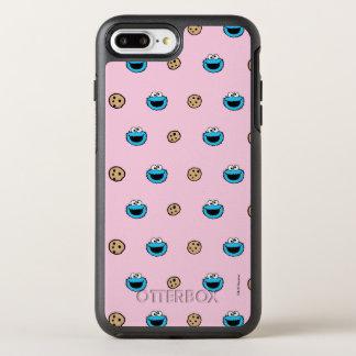 Kakamonster och kakarosamönster OtterBox symmetry iPhone 7 plus skal